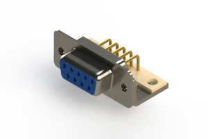 630-M09-240-LT4 - Right Angle D-Sub Connector