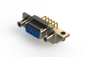 630-M09-240-LT5 - Right Angle D-Sub Connector