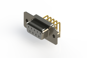630-M09-240-WN2 - Right Angle D-Sub Connector