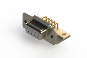 630-M09-240-WN4 - Right Angle D-Sub Connector