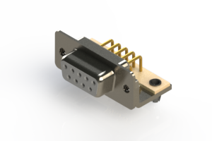 630-M09-240-WT3 - Right Angle D-Sub Connector