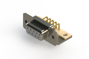 630-M09-240-WT4 - Right Angle D-Sub Connector