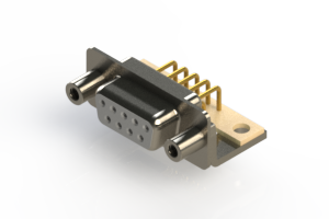 630-M09-240-WT6 - Right Angle D-Sub Connector