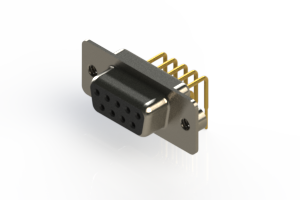 630-M09-340-BN2 - Right Angle D-Sub Connector
