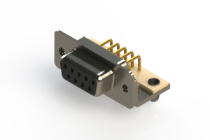 630-M09-340-BN3 - Right Angle D-Sub Connector
