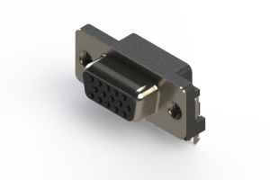 632-015-266-505 - 642 Series right angle D-Sub Connector