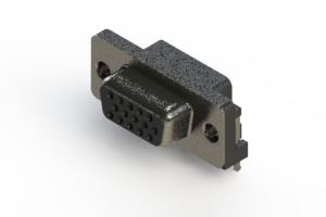 632-015-273-501 - 655 Series right angle D-Sub Connector