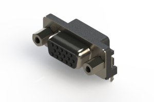 632-015-273-503 - 657 Series right angle D-Sub Connector