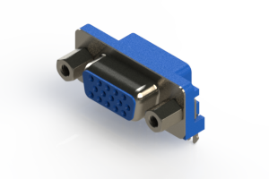 632-015-274-003 - 665 Series right angle D-Sub Connector