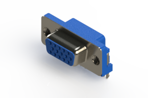 632-015-274-035 - 670 Series right angle D-Sub Connector