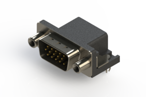 633-015-263-040 - Right Angle D-Sub Connector