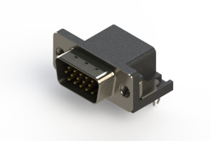 633-015-263-045 - Right Angle D-Sub Connector