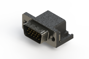 633-015-263-502 - Right Angle D-Sub Connector