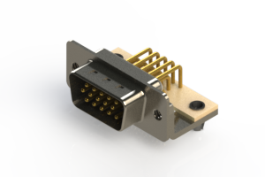 633-M15-263-BN3 - High Density D-Sub Connectors