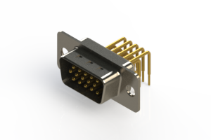 633-M15-263-WN1 - High Density D-Sub Connectors