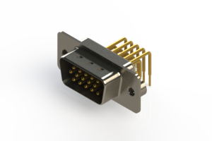 633-M15-263-WN2 - High Density D-Sub Connectors