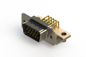 633-M15-263-WT3 - High Density D-Sub Connectors