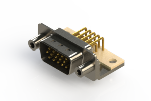 633-M15-263-WT6 - High Density D-Sub Connectors