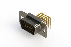 633-M15-363-BN1 - High Density D-Sub Connectors