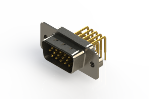 633-M15-363-BN2 - High Density D-Sub Connectors