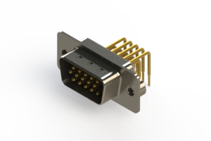 633-M15-363-WT2 - High Density D-Sub Connectors