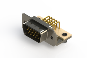 633-M15-363-WT3 - High Density D-Sub Connectors