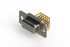 634-M15-363-WT1 - High Density D-Sub Connectors
