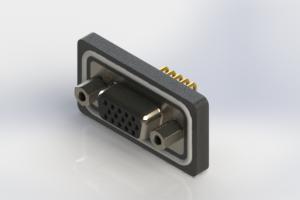 634-W15-362-012 - Waterproof High Density D-Sub Connectors