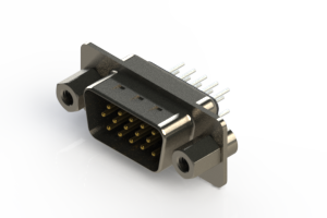 637-015-230-043 - Vertical D-Sub Connector