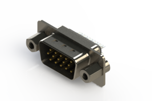 637-015-232-043 - Vertical D-Sub Connector