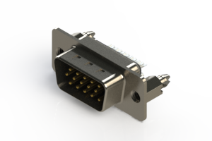637-015-232-046 - Vertical D-Sub Connector