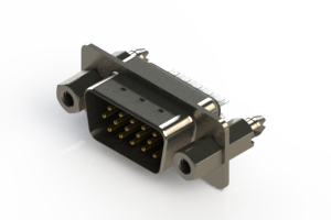 637-015-232-047 - Vertical D-Sub Connector