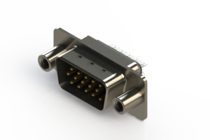 637-015-232-048 - Vertical D-Sub Connector