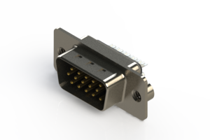 637-015-332-042 - Vertical D-Sub Connector