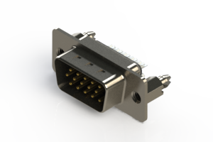 637-015-332-046 - Vertical D-Sub Connector