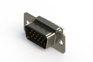637-015-632-041 - Vertical D-Sub Connector