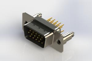 637-M15-230-BN5 - Machined D-Sub Connectors
