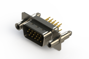 637-M15-230-BT6 - Machined D-Sub Connectors