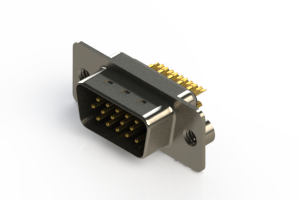 637-M15-232-BN2 - Machined D-Sub Connectors
