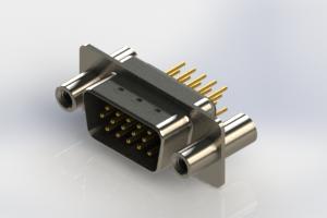 637-M15-330-BN4 - Machined D-Sub Connectors