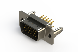 637-M15-330-BN5 - Machined D-Sub Connectors