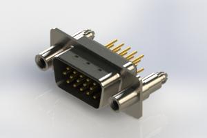637-M15-330-BN6 - Machined D-Sub Connectors