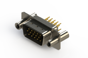 637-M15-330-BT4 - Machined D-Sub Connectors