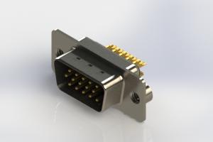 637-M15-332-BN2 - Machined D-Sub Connectors