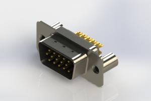 637-M15-332-BN3 - Machined D-Sub Connectors