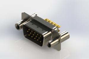 637-M15-332-BN4 - Machined D-Sub Connectors