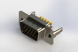 637-M15-332-BN5 - Machined D-Sub Connectors