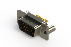 637-M15-332-BT3 - Machined D-Sub Connectors
