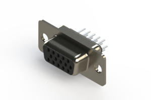 638-015-230-041 - Vertical D-Sub Connector