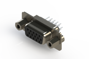 638-015-230-043 - Vertical D-Sub Connector